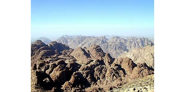Location of Mt. Sinai<br>